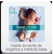 Hazte donante de organos y medula