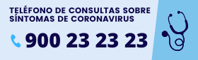 Información Síntomas Coronavirus 900 23 23 23