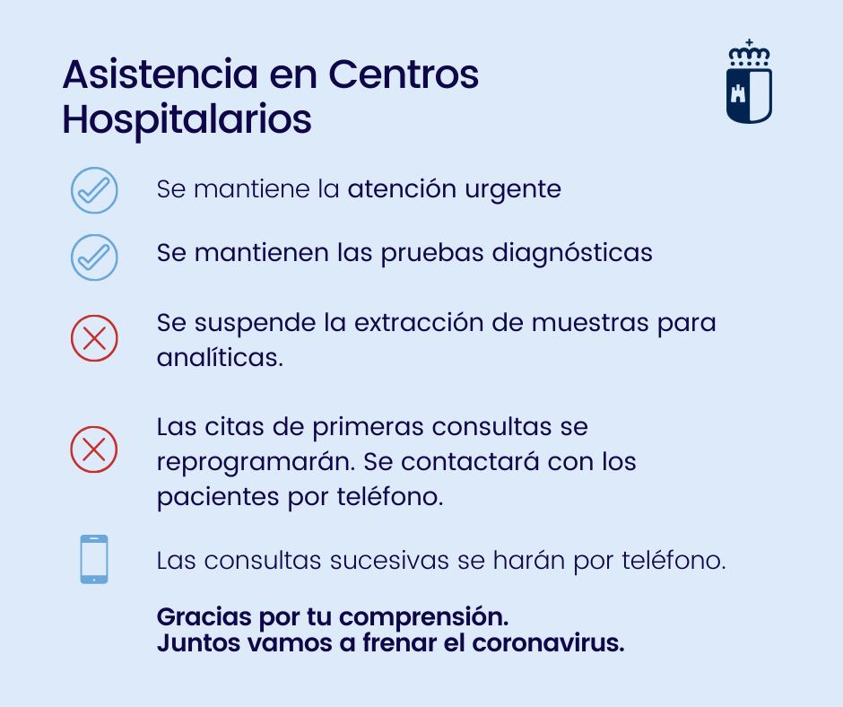 Asistencia en Centros Hospitalarios