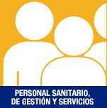 Personal sanitario de gestión y servicios