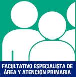 personal facultativo, especialista de área y atención primaria