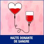 Hazte donante de sangre