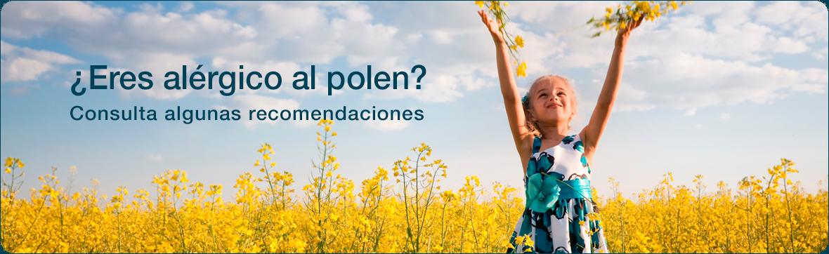 Recomendaciones ante la alergia