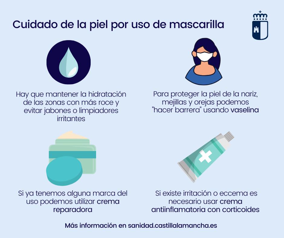 EL SERVICIO DE DERMATOLOGÍA DEL HOSPITAL UNIVERSITARIO ACONSEJA CÓMO DEBE CUIDARSE LA PIEL ANTE EL USO DE LA MASCARILLA 3