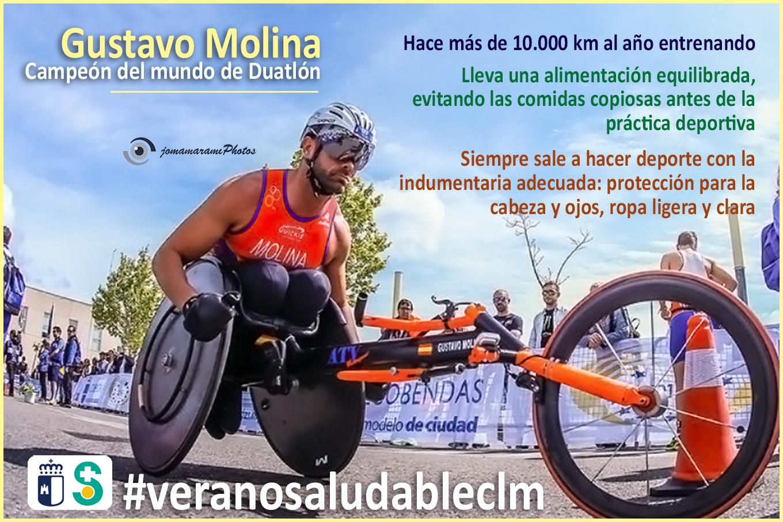Imagen de GUSTAVO MOLINA Campeón de España de Duatlón. Archivo PDF (Abre en nueva página)