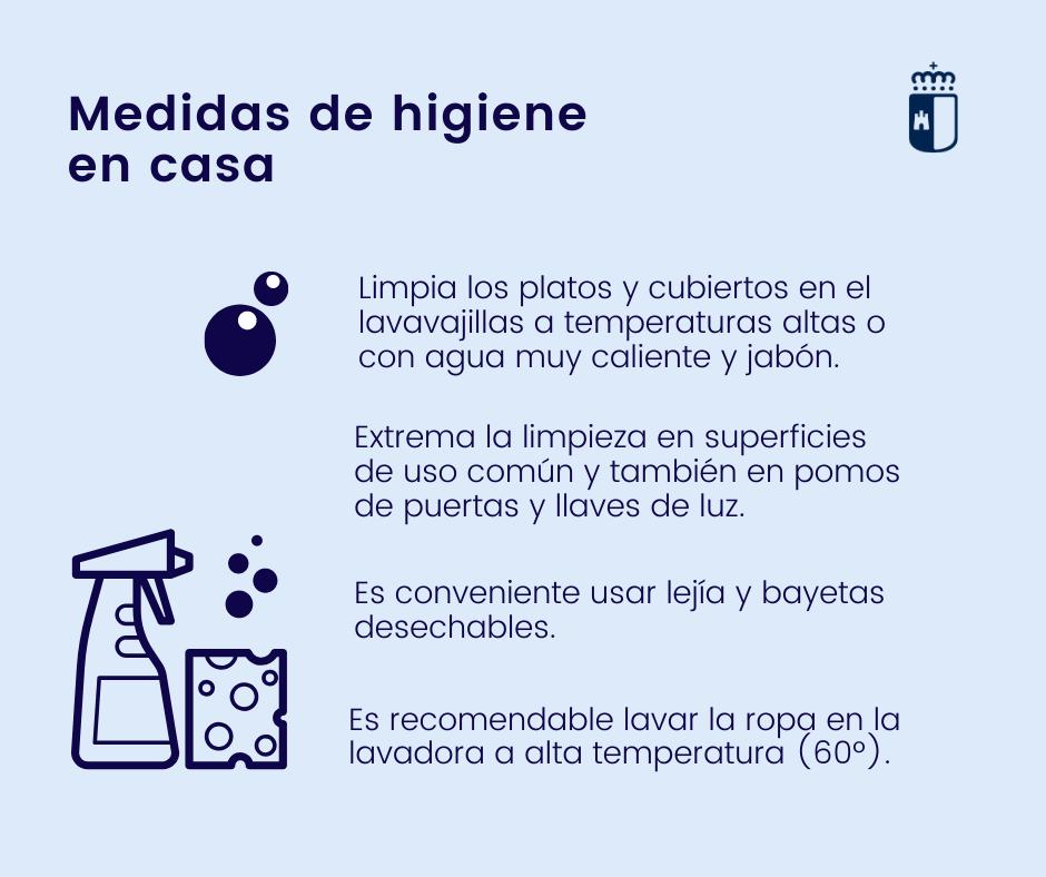 Medidas de higiene en casa