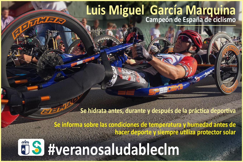 Imagen de LUIS MIGUEL GARCÍA MARQUINA Campeón de España de Ciclismo. Archivo PDF (Abre en nueva página)