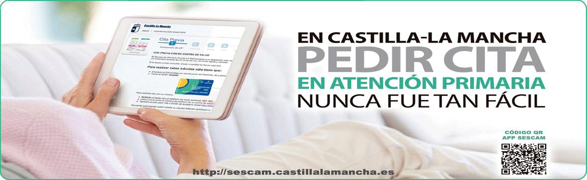 En Castilla-La Mancha PEDIR CITA en Atención Primaria nunca fue tan fácil