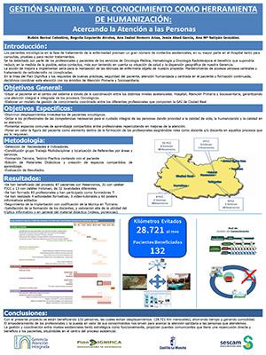 Póster Gestión sanitaria y del conocimiento como herramienta de HUMANIZACIÓN. Archivo PDF (Abre en nueva página)