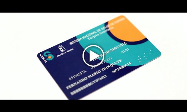 Incorporación del código QR en la tarjeta sanitaria para facilitar la descarga de la app de cita previa