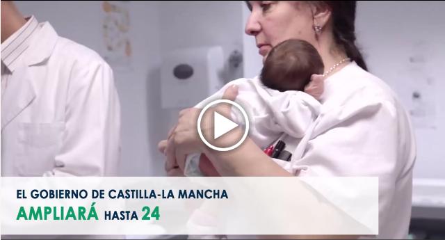 Castilla-La Mancha amplía hasta 24 las enfermedades detectables mediante la prueba del talón (archivo MP4)