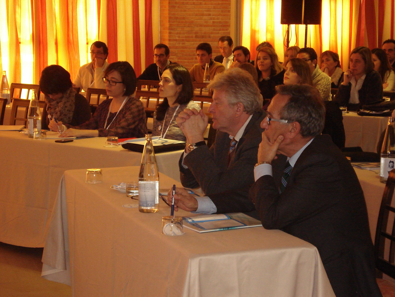 Asistentes al II Symposium Nacional de Hígado y Riñón celebrado en Alcázar de San Juan