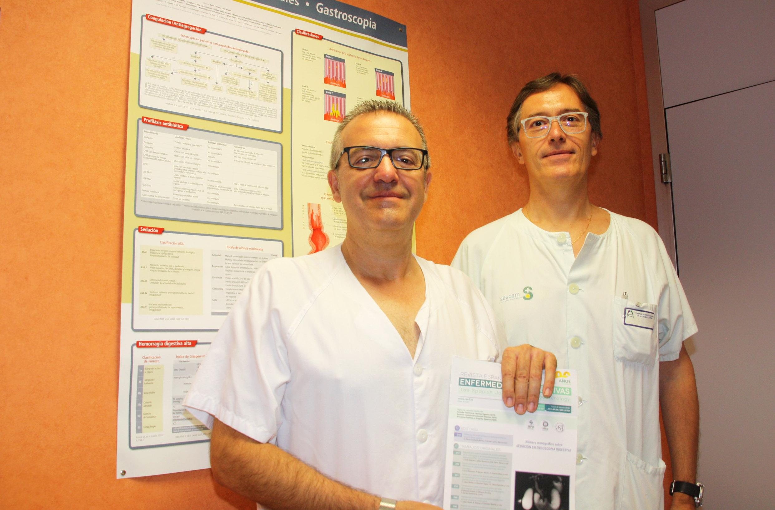Dos facultativos del Hospital Mancha Centro publican un editorial sobre prótesis pancreáticas en una prestigiosa revista médica