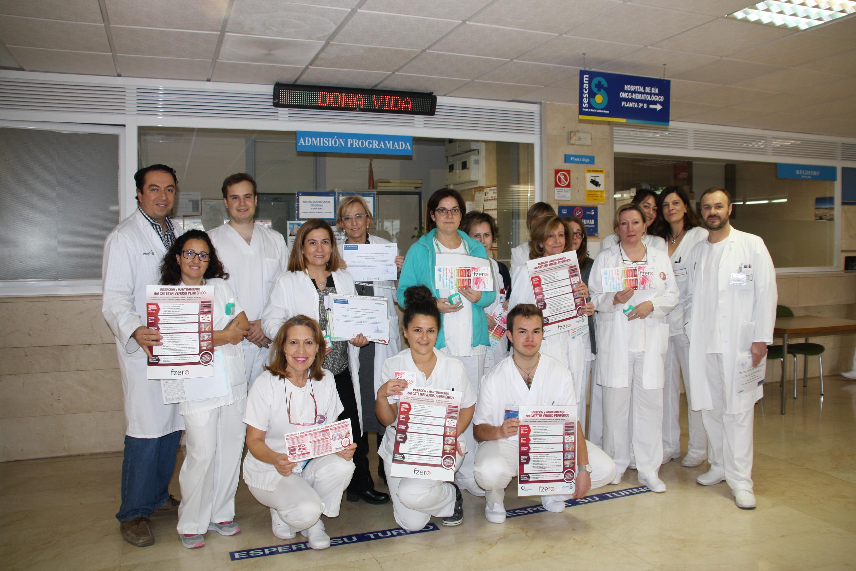 """El Hospital de Cuenca obtiene un reconocimiento por los buenos resultados obtenidos con el desarrollo del programa """"Flebitis Zero"""""""