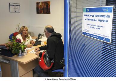 El servicio de Información y Atención al Usuario del Área Integrada de Guadalajara registra 8.948 consultas en los seis primeros meses de 2014