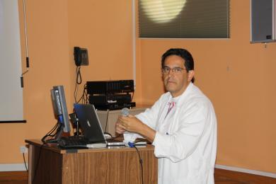 El cirujano pediátrico del Hospital Mancha Centro, Dr. Juan Carlos Pinzón
