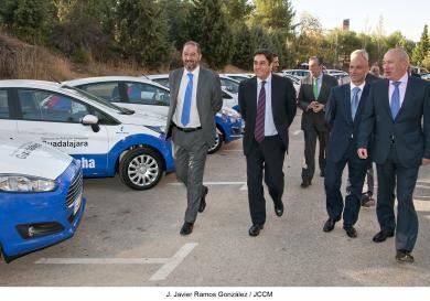 Guadalajara recibe 32 nuevos vehículos para mejorar la atención sanitaria en la provincia