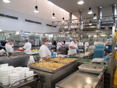 Instalaciones de la cocina del Hospital de Ciudad Real