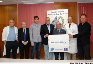 Autoridades y representantes de la sociedad civil talaverana han presentado hoy el IV Maratón de donación de sangre