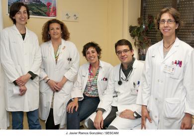 Profesionales del Servicio de Angiología, Cirugía Vascular y Endovascular del Hospital Universitario de Guadalajara