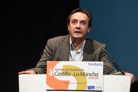 El microbiólogo Rafael Carranza agradeció el premio a todos los miembros del grupo