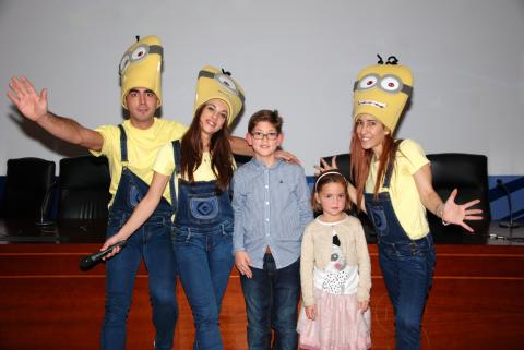 En la categoría de 4 a 7 años la ganadora ha sido Aroa Vizcaíno Hernández  y, en la de  8 a 11 años, Manuel Mariscal Muñoz