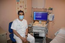 Nuevo electromiógrafo. Hospital Tomelloso