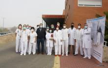 Homenaje a los profesionales del Servicio de Urgencias del Hospital Mancha Centro