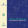 Manual del Paciente en programa trasplante